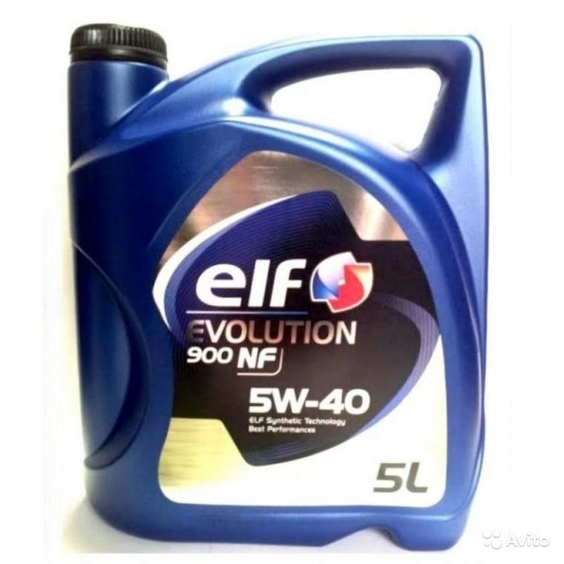 Масло ELF EVOLUTION 900 NF 5W40 5л в Кирове