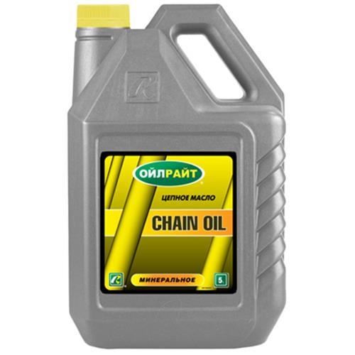 Масло цепное CHAIN OIL OILRIGHT (5л)