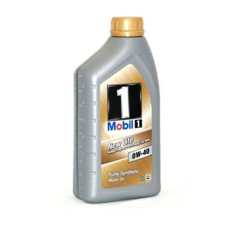 Масло Mobil 1 New Life 0W40 SN/SM/CF синт. 1л