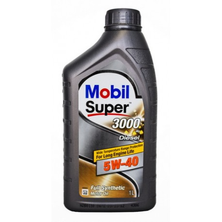 Масло Mobil Super DIESEL 3000 X1 (Synt S) 5w40 (1л)