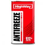 Антифриз -40 High Way G12+ LONG LIFE (USA) красный 5кг